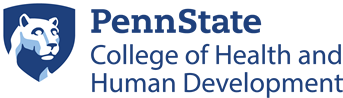 The College of Health and Human Development at Penn State Logo